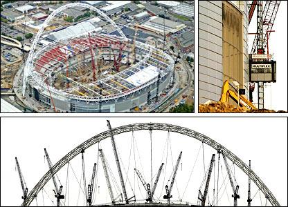 Bbc Sport Football The New Wembley Stadium