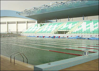 Bbc news in pictures in pictures nigeria 39 s games bid - How many olympic sized swimming pools in uk ...