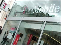 A T-Mobile store in London