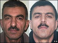 محمود محمود (چپ) و آری محمود