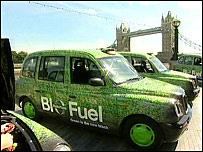 BBC NEWS | UK | England | London | Black cabs take biofuel