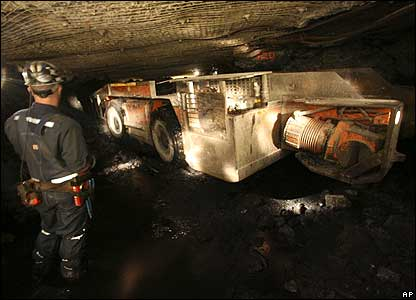 Coal Miner In China Cleaning Up After A Shift Pics