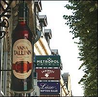 Tallinn alcohol advertising