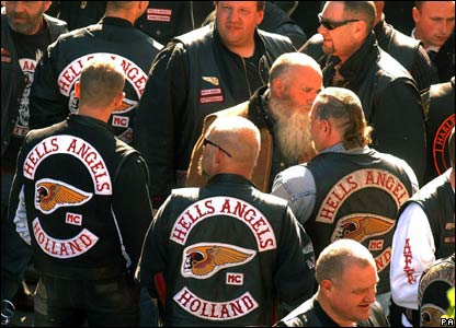 In pictures: Biker's funeral - White Trash Networks