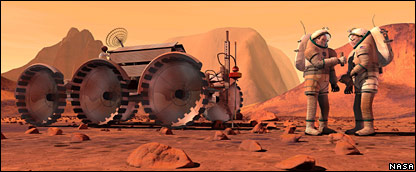 NASA's Mars Manned Mission - Pics about space