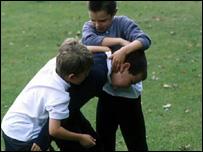 BBC NEWS | UK | Wales | Playground bullying 'UK highest'