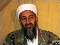 Osama Bin Laden. File pic
