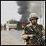 A British solider in Iraq