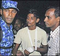Maldives boy 'acted on instinct'