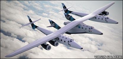Ovako će izgledati SpaceShipTwo na nosaču White Knight Two