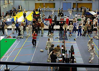 Bbc Sport Olympics Fencing Fencing England Cup Photos