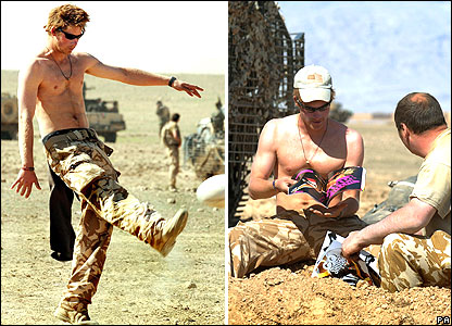 bbc news in pictures in pictures prince harry in afghanistan bbc news