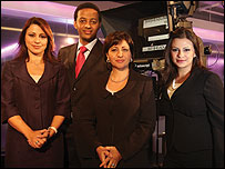 Middle east business report bbc presenter