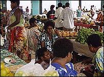 Mercado en Vanautu