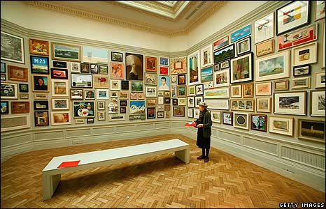 Bbc News In Pictures In Pictures Ra Summer Exhibition