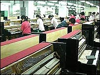 Pearl River piano factory