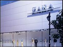 Negocio de Zara.
