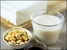 BBC NEWS   Health   Soy foods 'reduce sperm numbers'