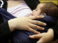 Bebé lactando