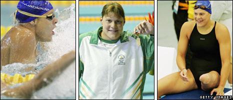 Bbc Sport Olympics Ten To Watch Natalie Du Toit