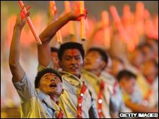 Opening ceremony, Beijing, 08/08