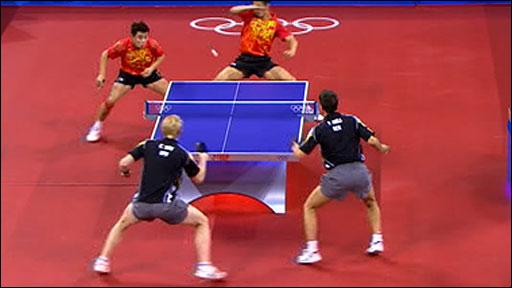 BBC SPORT | Olympics | Table Tennis | China's men power to ...