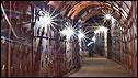 Corridor inside the bunker