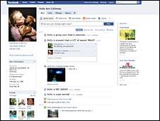 new redesign Facebook