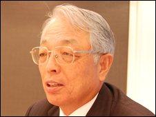 Mitsuo Kinoshita, executive vice-president of Toyota Motor Corporation