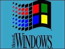 Windows 3 splash screen, Microsoft