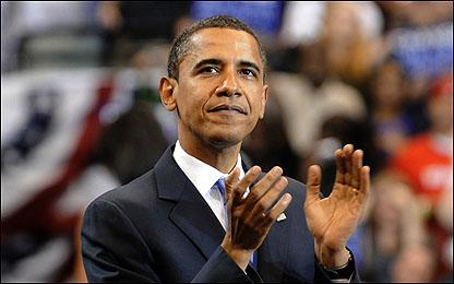 عاجل  :  اوباما أول رئيس أمريكي من اصول أفريقية نادي خبراء المال