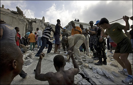 Bbc News In Pictures In Pictures Haiti School Collapse