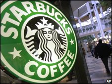 Starbucks is struggling to turnaround its fortunes, photo from BBC