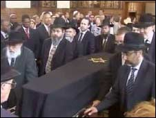 Helen Suzman's funeral in Johannesburg