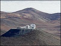 Observatorio en Cerro Paranal, Chile. (Foto: gentileza ESO)