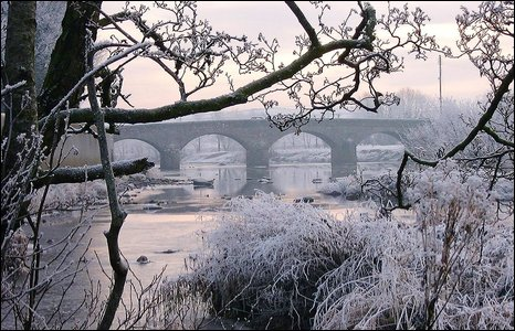 BBC NEWS | In Pictures | In pictures: Winter scenes