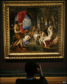 If you do one thing in London this month, see the reunited ...  |Diana And Actaeon Titian