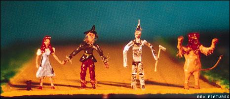 BBC NEWS   UK   Magazine   Secrets of the Wizard of Oz