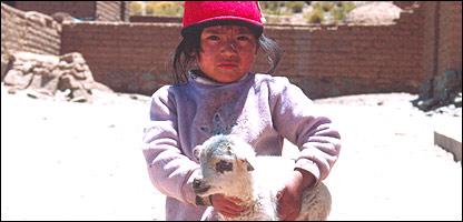 Niño en el noroeste argentino