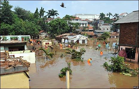 Situ Gintung Disaster Cireundeu Jakarta