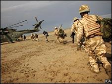 UK troops, Basra province