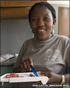 Bbc News Africa Lesotho Aids Diary Counsellor