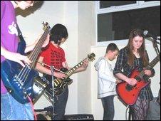 bbc south east wales dragon bands blaze talent trail. Black Bedroom Furniture Sets. Home Design Ideas