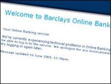 BBC NEWS | Business | Barclays fixes hardware problem