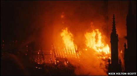 Bbc York Amp North Yorkshire The Story Of York Minster Fire