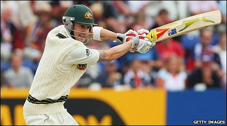 BBC SPORT | Cricket | England | Clarke & North make England toil