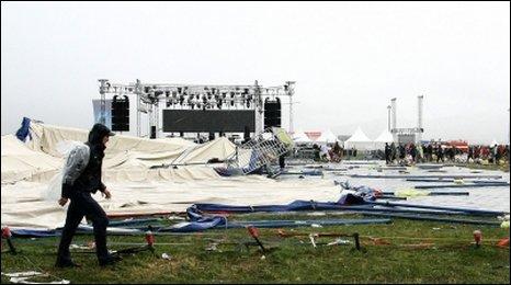 One dead at Slovak music festival