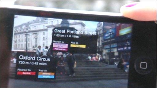 Mobile phones get cyborg vision