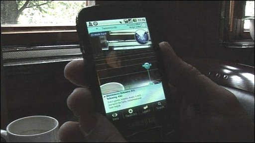 Handsets enhance the real world