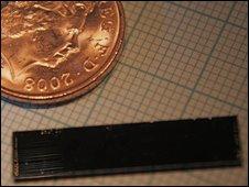 Quantum computer slips onto chips